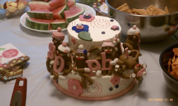 sam 39 s baby shower cake cakes pinterest