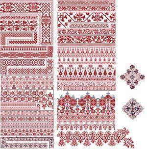 german pattern Cross stitch Pinterest