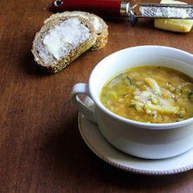 Summer Vegetable-Farro Soup | Vegetable Recipes | Pinterest