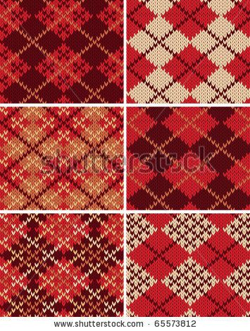 Argyle Crochet Afghan Pattern : CROCHET ARGYLE PATTERNS Crochet Patterns Only