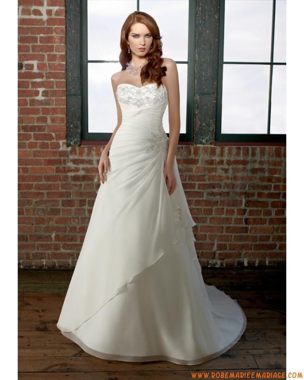 Pin by robe de mariage on Robe de mariée ivoire  Pinterest