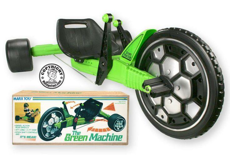 vintage green machine