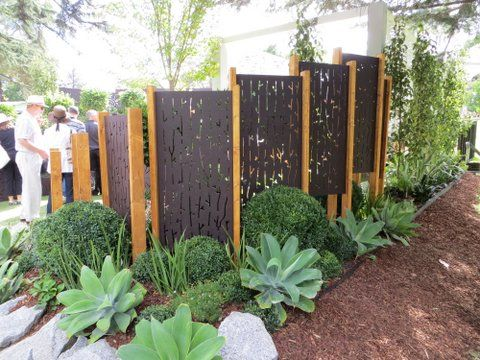 Garden screen out deco garden feature pinterest for Garden feature screens