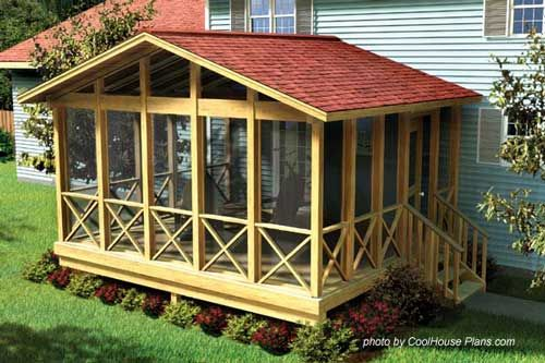 Cool Plans For Screened Porches Home Is Where The Is