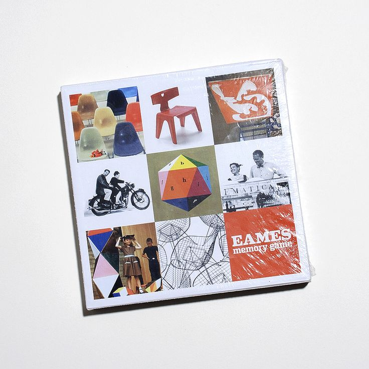 Is it a beautiful coffee table book or a game? It's both! It's the Eames Memory Game