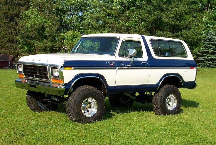 1978 Ford Bronco 03 4x4 S Pinterest