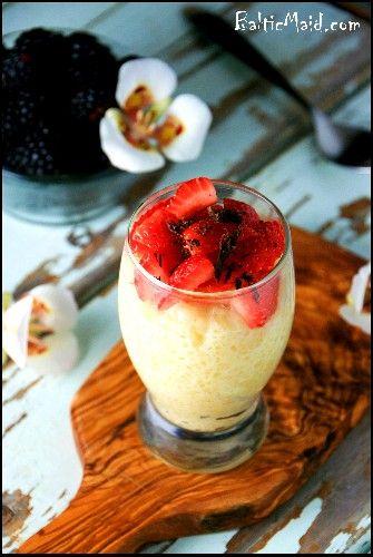 Tapioca Pudding | recipes | Pinterest