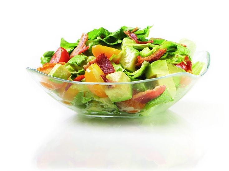 Bacon, Lettuce and Tomato Salad | Eat It | Pinterest