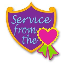 service from the heart girl scouts pinterest