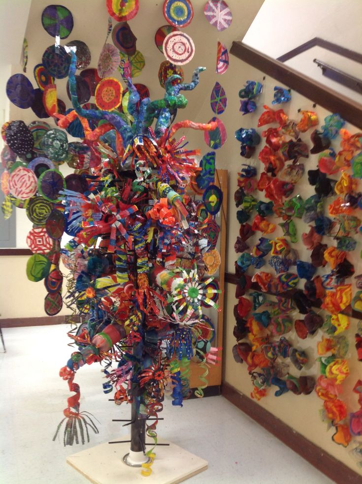 Pin by trisha marchesseau on group art projects pinterest for Group craft projects for adults