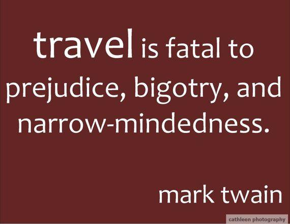 quote mark twain travel fatal omlra