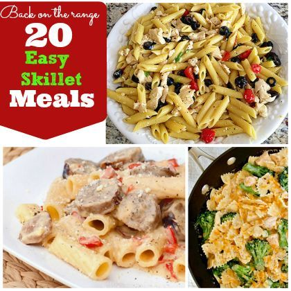 20 Easy Skillet Meals| Spoonful | Food & Drinks | Pinterest