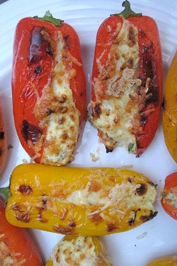 feta stuffed peppers