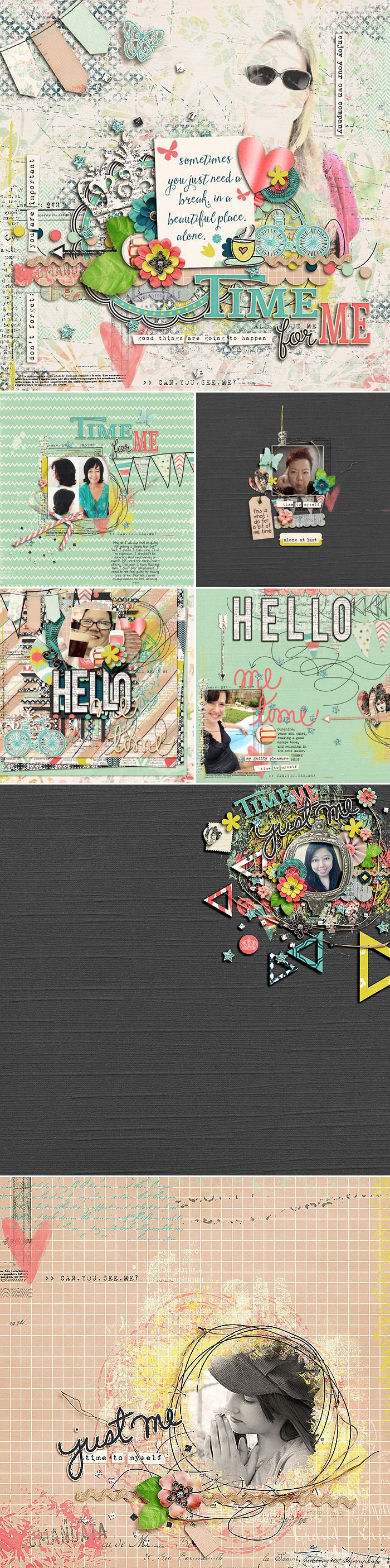 CT INSPIRATION using Me Time by Amber Shaw & Studio Basic