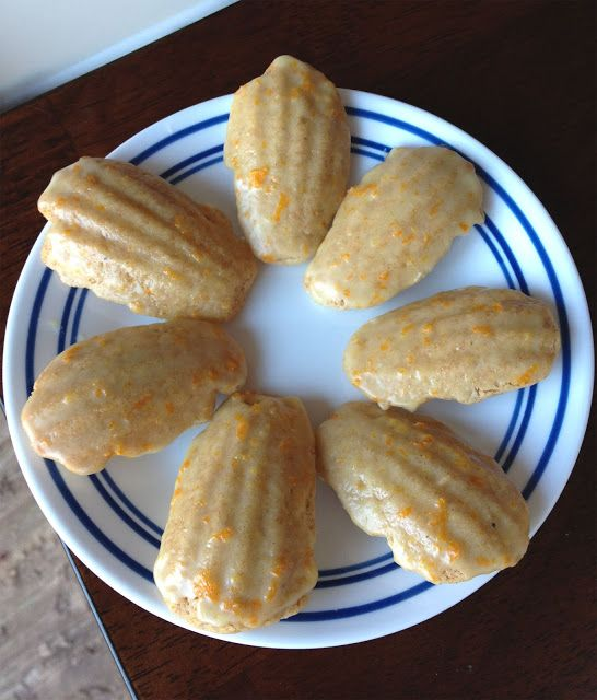 ... cardamom pods cara cara orange cardamom ice cream glazed madeleines