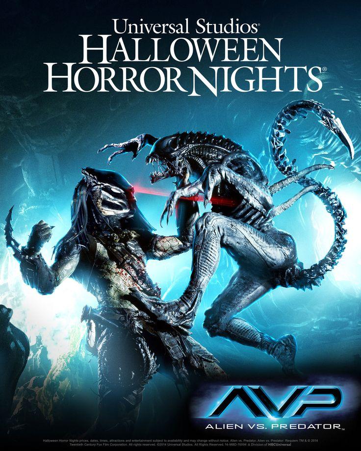 Halloween Horror Nights Alien vs Predator 2014