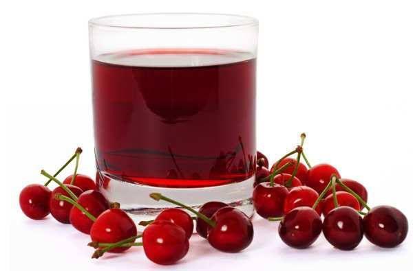 melatonin rich cherry juice
