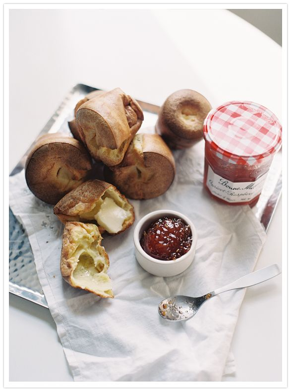 Food styling and photography. Breakfast. Jam and bread. 100layercake.
