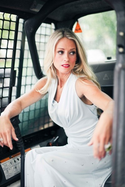 Nicole Curtis the Rehab Addict - glamour photo shoot at the $ House