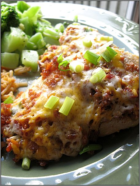 Smothered Chicken | Yum...looks so good. | Pinterest
