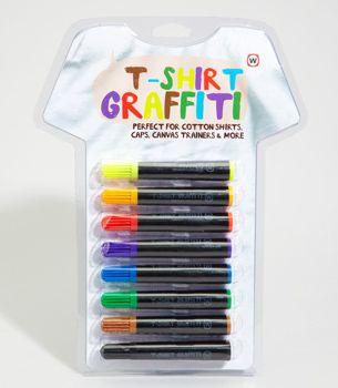 T-shirt Graffiti Marker Kit