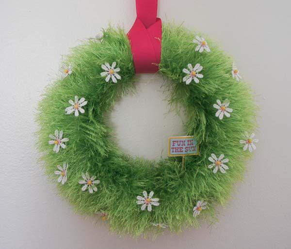 Spring Wreath Diy Craft Ideas Pinterest