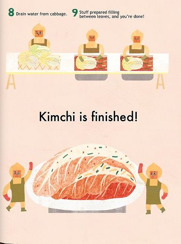 this book explains why kimchi is a healthy food and how various kimchi ...