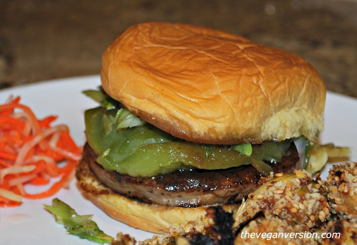 Portabella Mushroom Burger | WW sandwiches | Pinterest