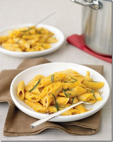 Penne with Creamy Pumpkin Sauce | Recipe & Holiday Favorites | Pinter ...