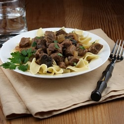 Lightened-Up Slow Cooker Beef Stroganoff | Food and recipes | Pintere ...