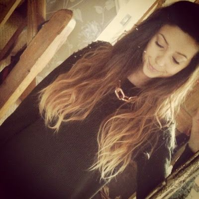 Zoella Ombre hair Blonde dip dyeZoella Ombre Hair Straight