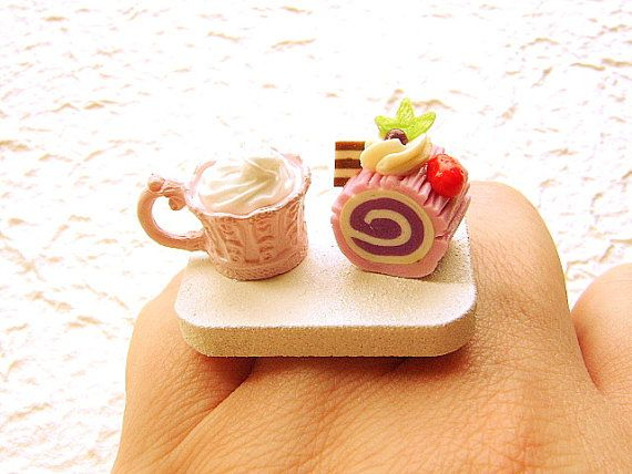 cake & hot chocolate ring | Food Culture | Pinterest