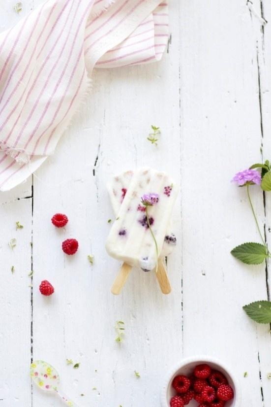Yogurt Ice Pops With Berries Recipes — Dishmaps