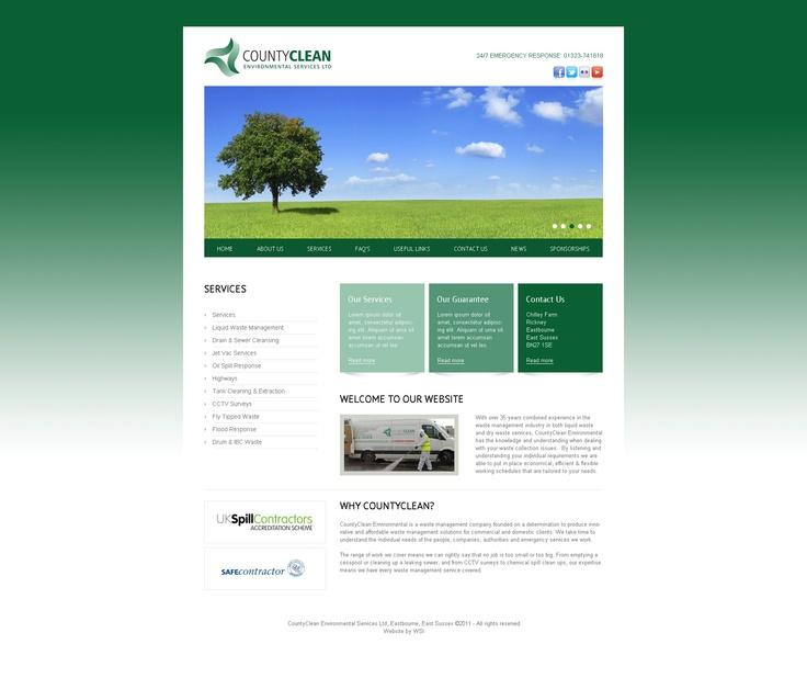 WordPress Website - Our work - Pinterest
