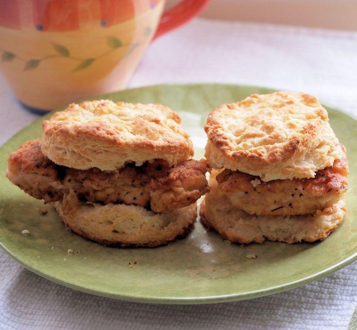 Chicken Biscuits - Tramplingrose