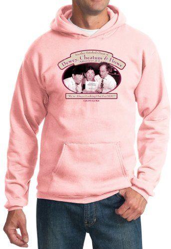 Three Stooges Hoodie Sweatshirt Funny Attorneys At Law Adult Hoody, XL