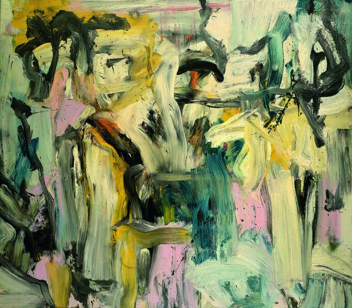 an analysis of an abstract expressionism in painting arts Abstract expressionism, also known as action painting or color field painting, exploded onto the art scene after world war ii with its characteristic messiness and extremely energetic applications of paint.