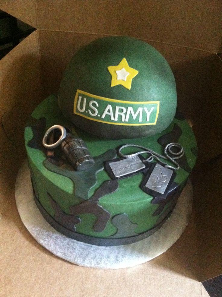 Army cake!  Kids Birthday Cakes!  Pinterest