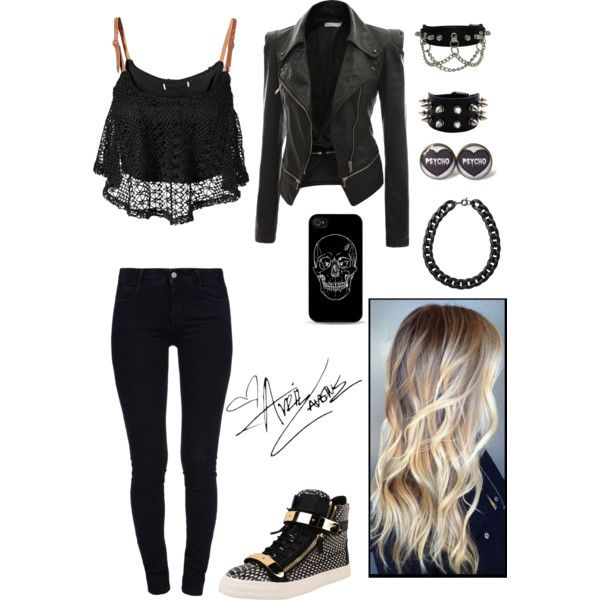 Bad Girl By Kathemmloe On Polyvore Outfits