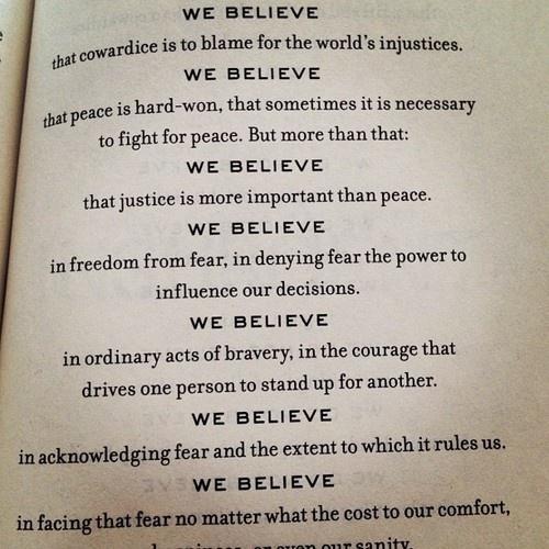 Manifesto   Dauntless ...