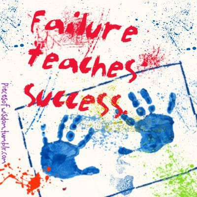 essays on failure teaches success