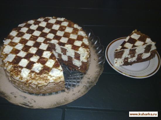 Торт шахматный рецепт и фото