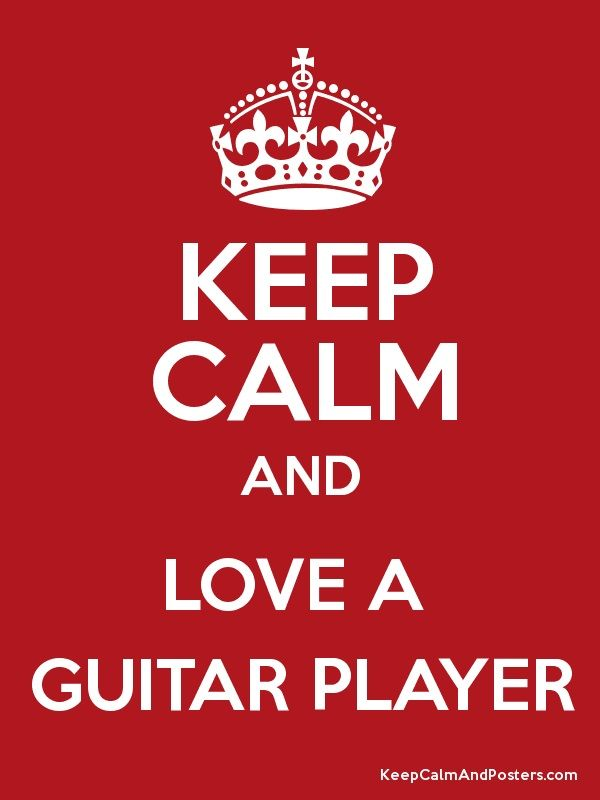 Love A Guitar Player