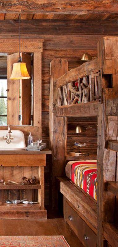 Rustic Bedroom - Lohss Construction
