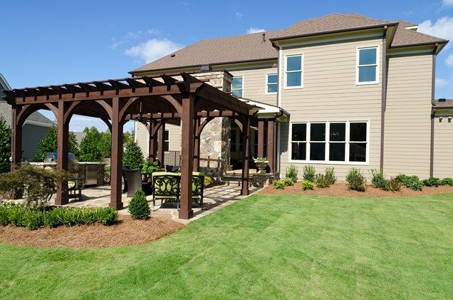 Backyard Patio Cover  Our New Home  Pinterest