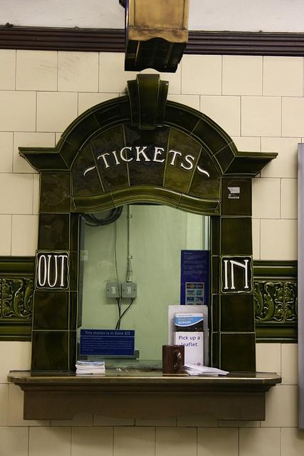 Ticket Window Train Station Painting Pinterest
