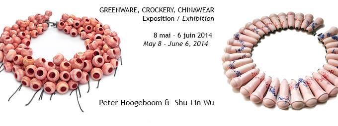 Greenware, Crockery, Chinawear - Shu-Lin Wu & Peter Hoogeboom