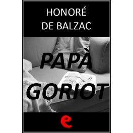 libro papa goriot: