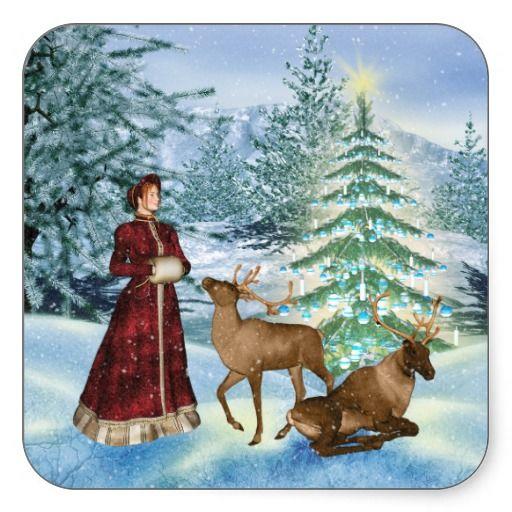 victorian christmas scenes - photo #48