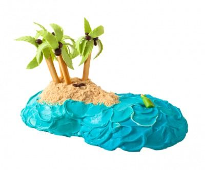 Whip up this cake for your beach-loving kiddo.